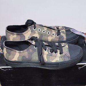 Demonia camouflage unisex sneakers